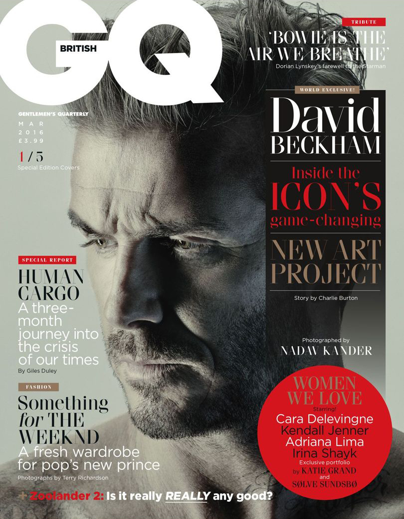 Editorial / GQ Magazine: Nadav Kander